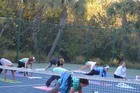 Yoga at Sea Oats  - www.trainwithnicole.net