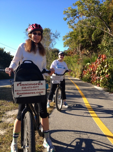 Sanibel/Captiva bike path - www.trainwithnicole.net