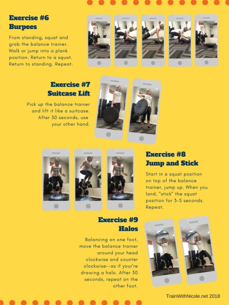 45-minute Balance Trainer Workout